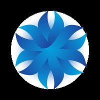 Origami Flower (.EPS) logo template