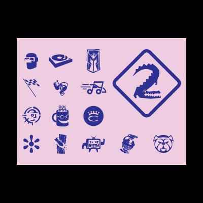 Original Icons logo template