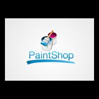 Paintshop logo template