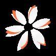 Paper Flower logo template