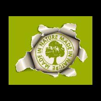 Pierce the green paper logo template