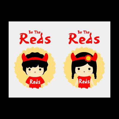 Reds t-shirt logo template