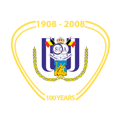 RSC Anderlecht (100 years) vector logo