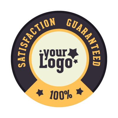 Satisfaction Guaranteed logo template
