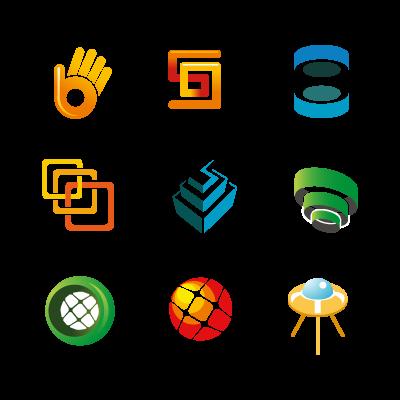 Simple logotypes logo template