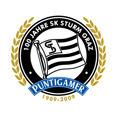SK Sturm Graz (Puntigamer) logo vector