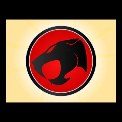 Thunder cats logo template