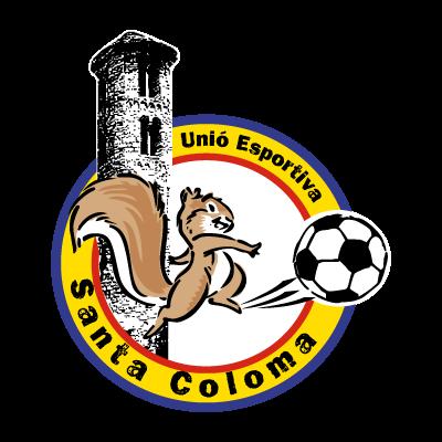 U.E. Santa Coloma vector logo