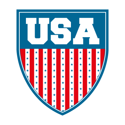 USA shield logo template
