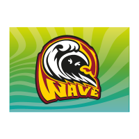Wave icon logo template