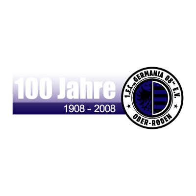 1. FC Germania 08 Ober-Roden (1908) vector logo