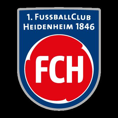 1. FC Heidenheim logo vector