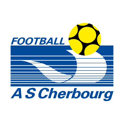 AS Cherbourg Football logo vector