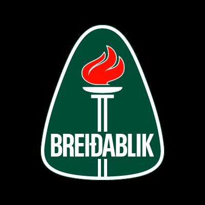 Breidablik UBK logo vector