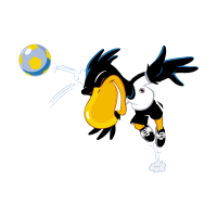Deutscher FuBball-Bund - Paule (UEFA) vector logo