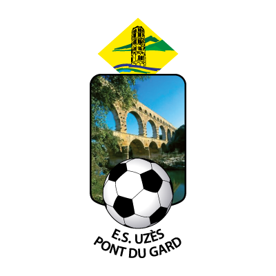 ES Uzes Pont du Gard (Old) logo vector