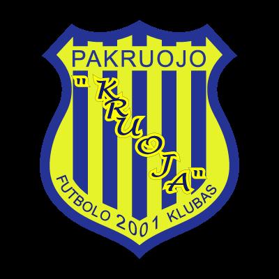 FK Kruoja logo vector