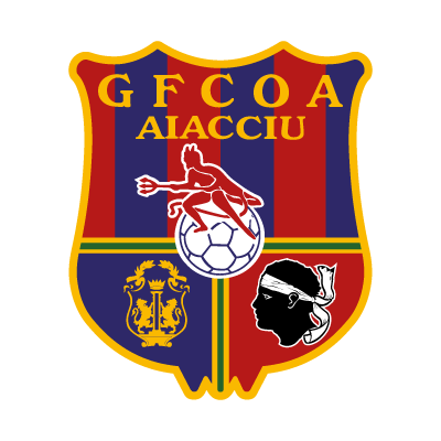 Gazelec FC Olympique Ajaccio logo vector