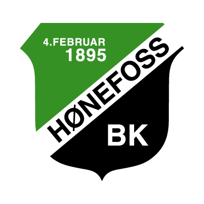 Honefoss BK logo vector