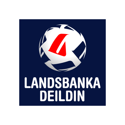 Landsbankadeild logo vector
