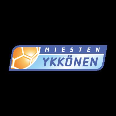Miesten Ykkonen vector logo