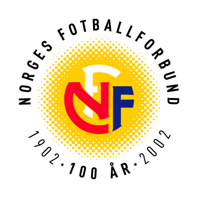 Norges Fotballforbund (100 Years) logo vector