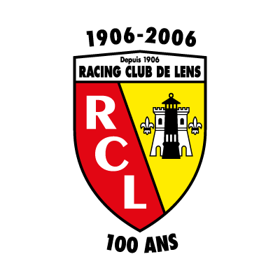 Racing Club de Lens (100 ANS) logo vector