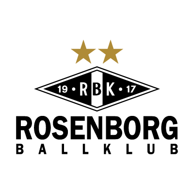 Rosenborg BK (Current script) logo vector