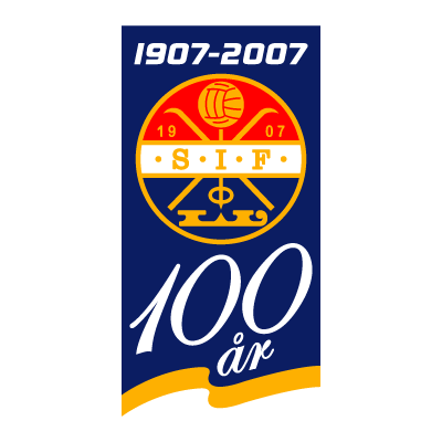 Stromsgodset IF (100 Years) logo vector