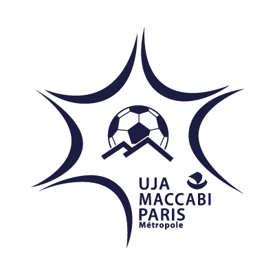 UJA Maccabi Paris vector logo