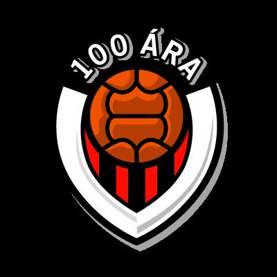 Vikingur Reykjavik (100 ara) vector logo