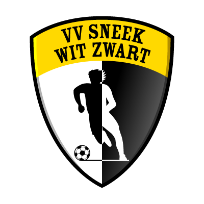 VV Sneek Wit Zwart logo vector