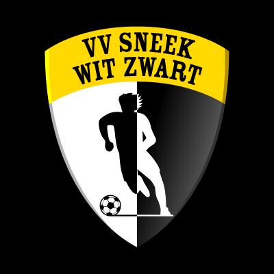 VV Sneek Wit Zwart vector logo