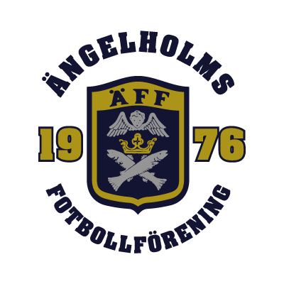 Angelholms FF logo vector
