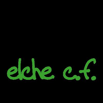 Elche C.F. (2009) logo vector