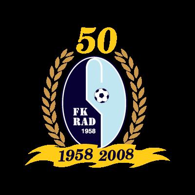 FK Rad (1958-2008) logo vector