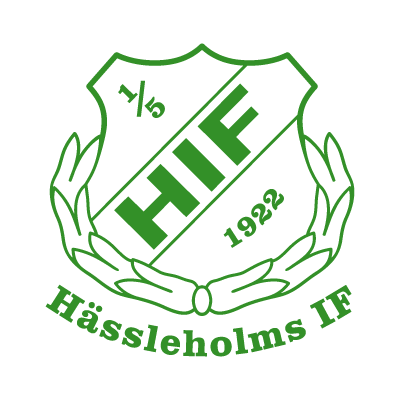 Hassleholms IF logo vector