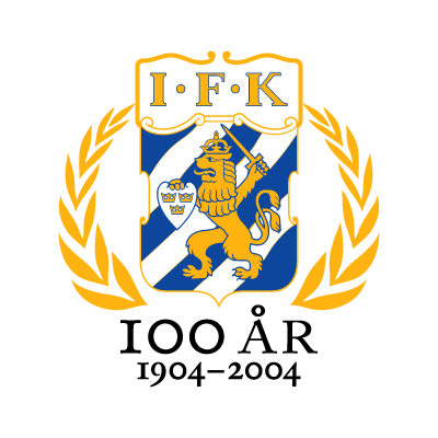 IFK Goteborg (100 Years) vector logo