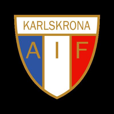 Karlskrona AIF logo vector
