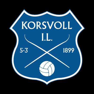Korsvoll IL logo vector