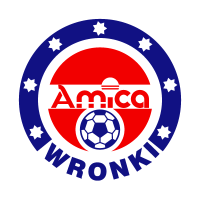KS Amica Wronki logo vector