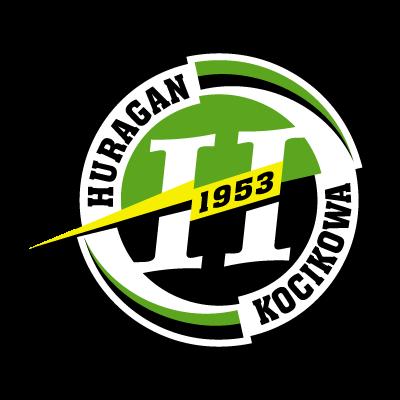 LKS Huragan Kocikowa logo vector