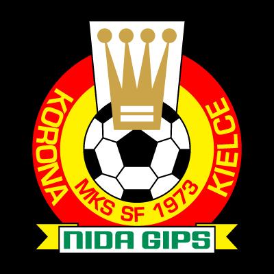 MKS SF Korona Nida Gips Kielce (1973) logo vector