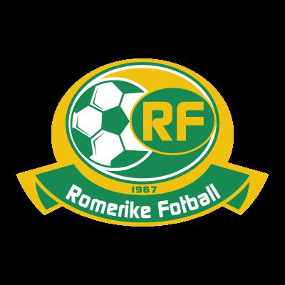 Romerike Fotball logo vector