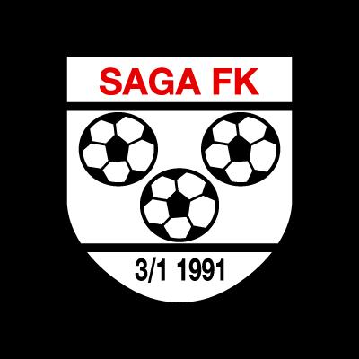 Saga FK logo vector