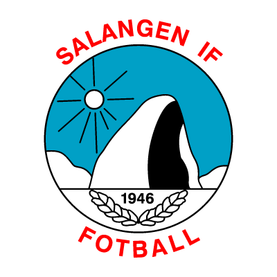 Salangen IF logo vector