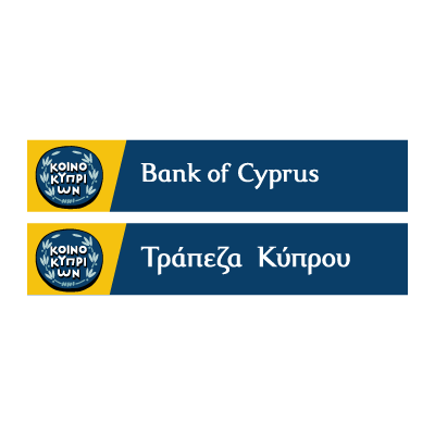 Bank of Cyprus logo vector