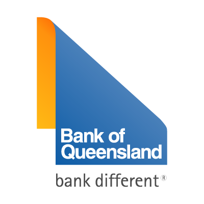 Bank of Queensland different logo vector