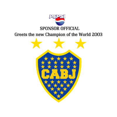 Boca Juniors – Pepsi logo vector