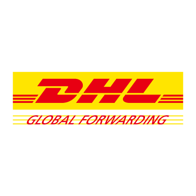 DHL Global Forwarding logo vector